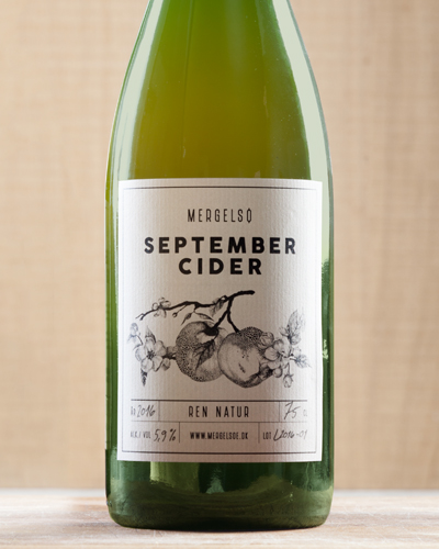 Mergelsø cider September ren natur
